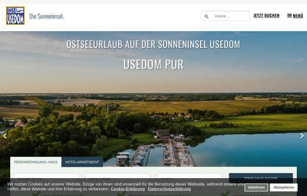 Vorschau von usedom.de, Usedom Tourismus GmbH