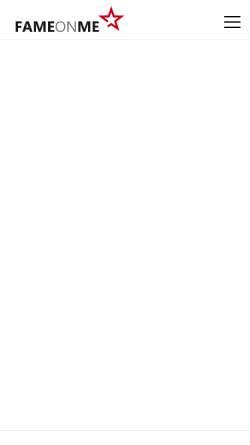Vorschau der mobilen Webseite www.fameonme.de, FAMEONME Casting