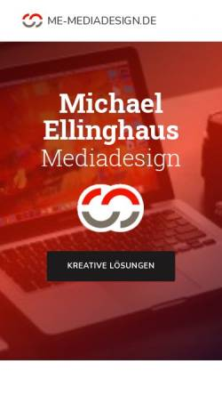Vorschau der mobilen Webseite www.michaelellinghaus.de, Michael Ellinghaus