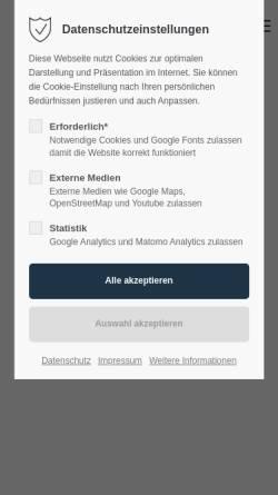 Vorschau der mobilen Webseite www.webdesign-radtke.de, Webdesign Radtke, Inhaber Stephan Radtke