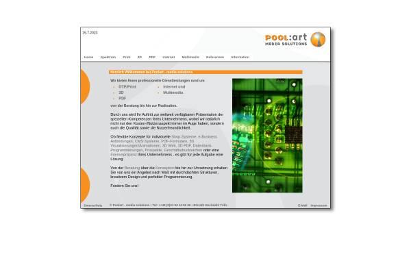 Vorschau von www.poolart.de, Poolart media solutions