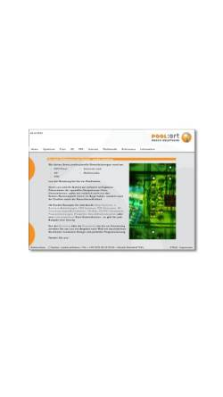 Vorschau der mobilen Webseite www.poolart.de, Poolart media solutions