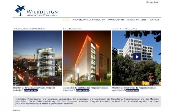 Vorschau von www.wilkdesign.de, Wilk Design & Computergraphik GmbH & Co. KG
