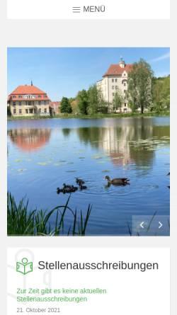 Vorschau der mobilen Webseite www.burg-stargard.de, Burg Stargard