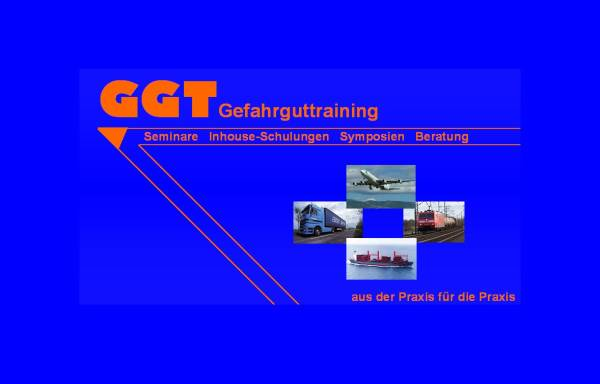 Vorschau von ggt.rheingau.org, GGT Gesellschaft für Gefahrgut-Training mbH