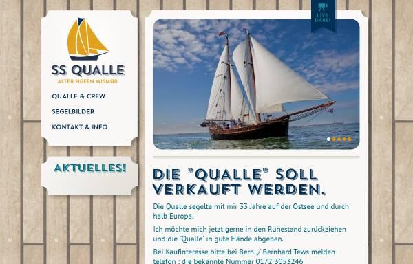 Vorschau von www.ss-qualle.de, Segelschiff