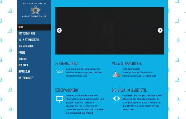 Vorschau von fewo-binz.aufruegen.com, Ferienwohnung Bauer