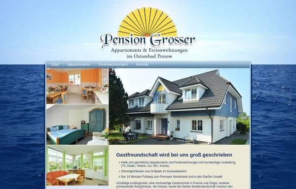 Vorschau von www.pension-grosser.de, Pension Grosser