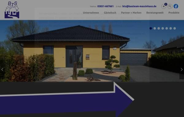 Vorschau von www.bauteam-massivhaus.de, Bauteam GmbH