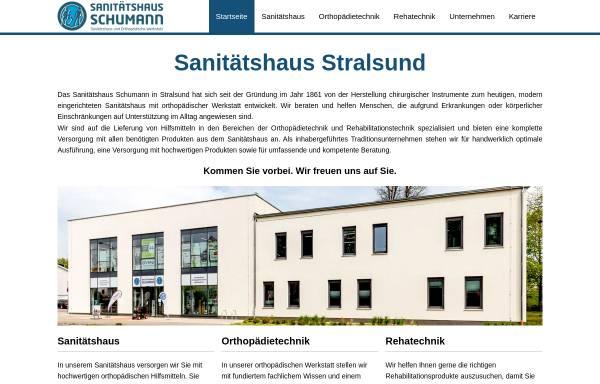 Vorschau von www.sanitaetshaus-schumann.de, Sanitätshaus Schumann