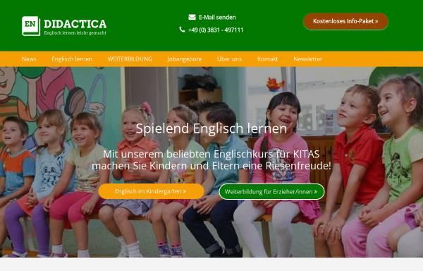 Vorschau von www.didactica-hst.de, Didactica Förderungslehrgänge