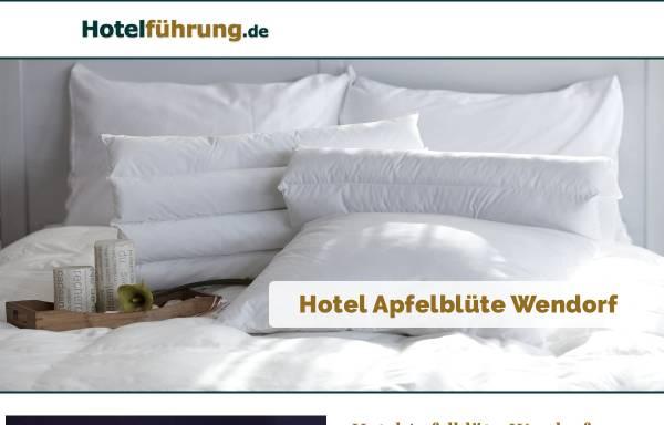 Vorschau von www.hotel-pension-apfelbluete.de, Hotel und Pension Apfelblüte
