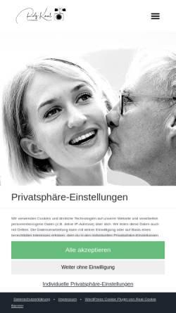 Vorschau der mobilen Webseite www.rolfkaul.de, Hochzeitsfotograf Rolf Kaul Tegernsee