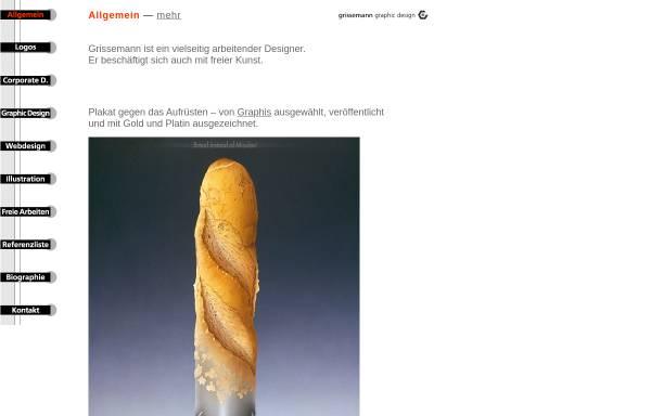 Vorschau von www.grissemanndesign.com, Grissemann, Otmar