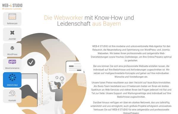Vorschau von www.web-4.eu, WEB-4 STUDIO, Nadine Röhler