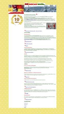Vorschau der mobilen Webseite www.weihnachtsmannbuero.de, Weihnachtsmannbüro - Sascha Birr