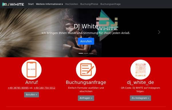 Vorschau von www.dj-white.de, DJ White