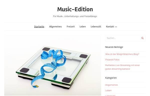 Vorschau von www.music-edition.de, Music Edition DJ-Team