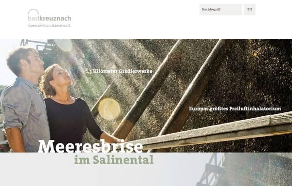 Vorschau von www.bad-kreuznach-tourist.de, Gesundheit und Tourismus für Bad Kreuznach