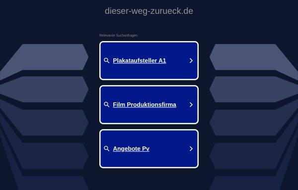 Vorschau von www.dieser-weg-zurueck.de, Der Weg zurück ins Leben