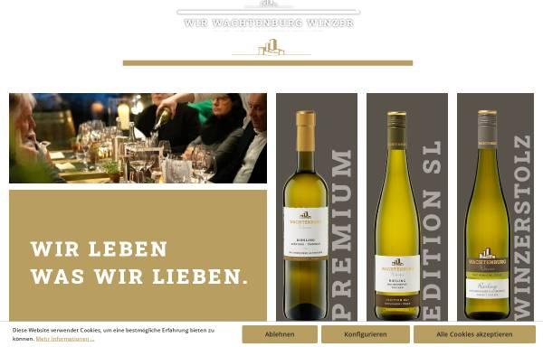 Vorschau von www.wachtenburg-winzer.de, Wachtenburg-Winzer eG.