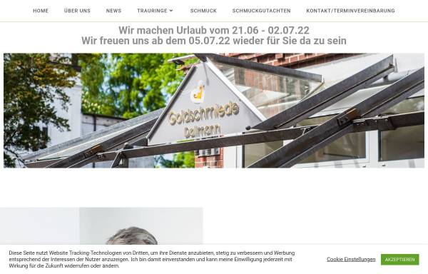 Vorschau von www.goldschmiede-dallmann.de, Goldschmiede Dallmann