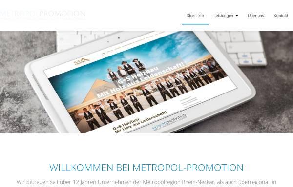 Vorschau von www.metropol-promotion.de, Metropol Promotion, Maximilian Ernst