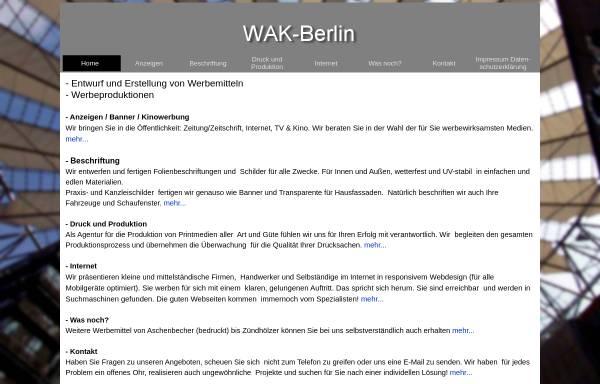 Vorschau von www.wak.com, Wak, Stefan Klauck