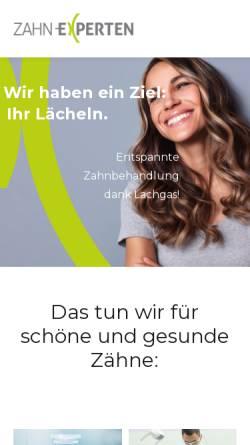 Vorschau der mobilen Webseite www.die-zahnaerztin.ch, Zahnarztpraxis Oberle GmbH