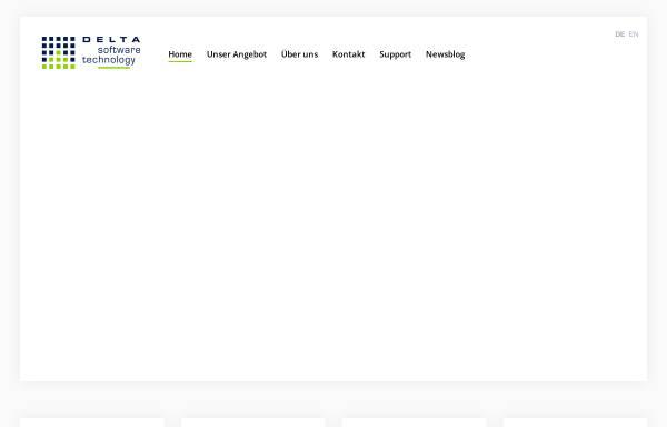 Vorschau von delta-software.com, Delta Software Technology GmbH