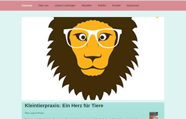 Vorschau von kleintierpraxis-bickelmann-rheinberg.de, Kleintierpraxis Dr. Ulrike Bickelmann