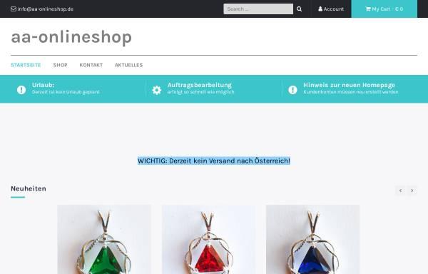 Vorschau von aa-onlineshop.de, AA-Onlineshop, Cäcilia Dietz