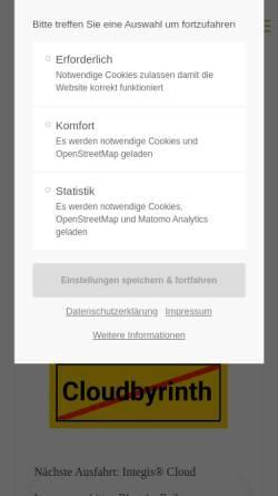 Vorschau der mobilen Webseite www.pixsoftware.de, Pix Software GmbH