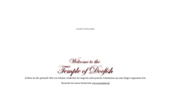Vorschau von www.templeofdocfish.de, Temple of Docfish, Sven Pohl