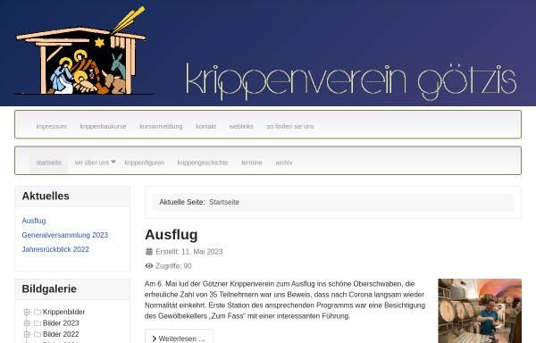 Vorschau von krippenverein-goetzis.at, Krippenverein Götzis