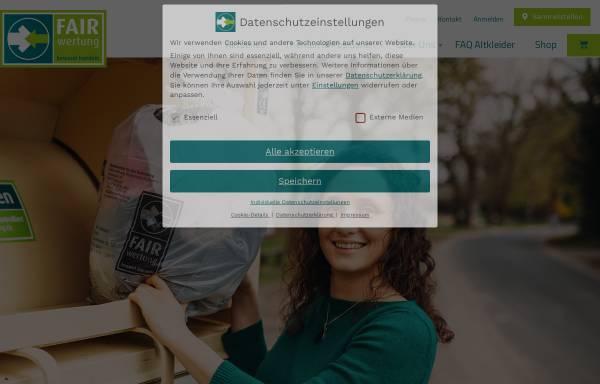 Vorschau von www.fairwertung.de, Dachverband FairWertung e.V.