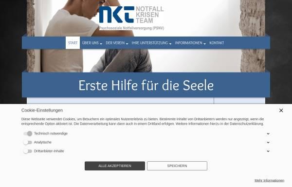Vorschau von www.notfall-krisen-team.de, Notfall-Krisen-Team e.V. (NKT)