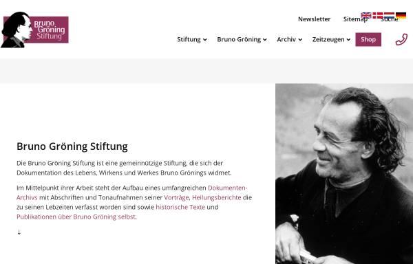 Vorschau von www.bruno-groening-stiftung.org, Bruno Gröning Stiftung