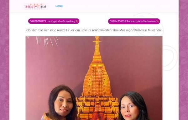 Vorschau von thida-thai-massage.de, Thida Thai Massage GbR