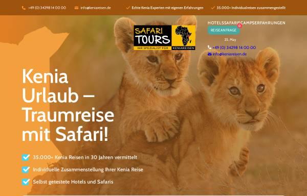 Vorschau von www.keniareisen.de, Keniareisen.de