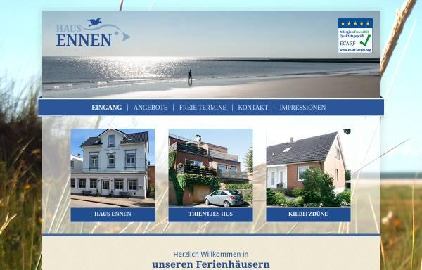 Vorschau von www.haus-ennen.de, Haus Ennen