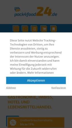 Vorschau der mobilen Webseite www.pro-dp.de, Unterstützung für Unternehmen aus Industrie, Handel und Logistik