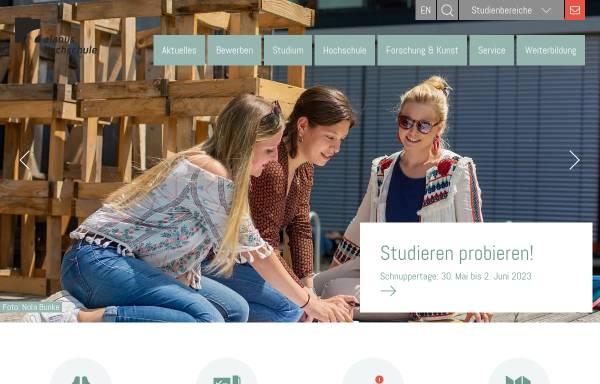 Vorschau von www.alanus.edu, Alanus Hochschule für Kunst und Gesellschaft Alfter