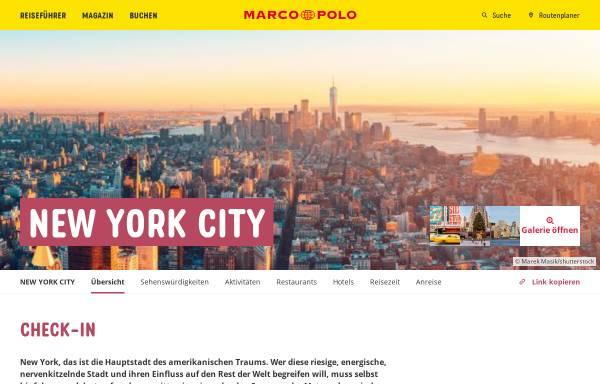 Vorschau von www.marcopolo.de, Marco Polo Reiseführer
