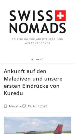 Vorschau der mobilen Webseite www.sunandstar.ch, Sunandstar [Reni & Marcel]