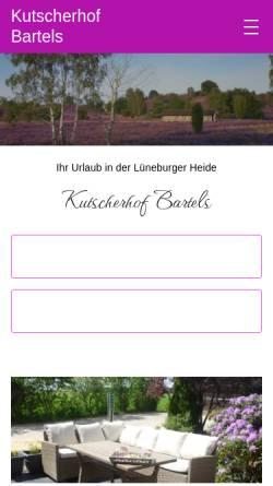 Vorschau der mobilen Webseite www.annes-kutschfahrten.de, Annes Kutschfahrten