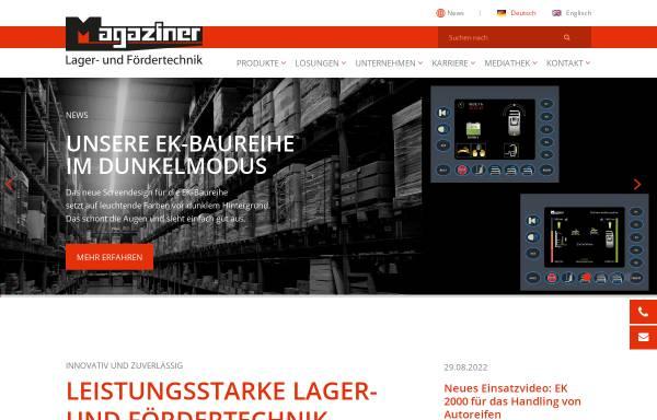Vorschau von www.magaziner.de, Magaziner Lager - und Fördertechnik GmbH