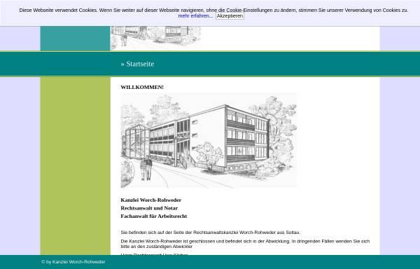 Vorschau von www.anwaelte-soltau.de, Anwälte Worch-Rohweder & Struck