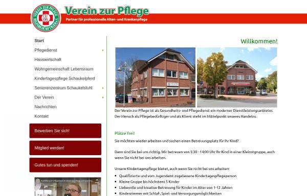 Vorschau von www.verein-zur-pflege.de, Verein zur Pflege Hilfsbedürftiger e.V.