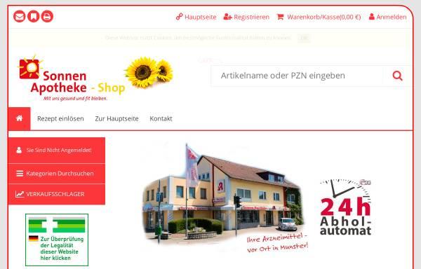 Vorschau von shop.sonnenapotheke-munster.de, Sonnen-Apotheke, Jürgen Zörner